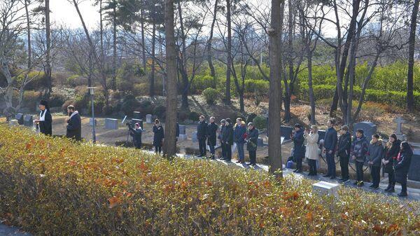 Сотрудники Посольства России в Республике Корея почтили память русского дипломата Сергея Виссарионовича Чиркина