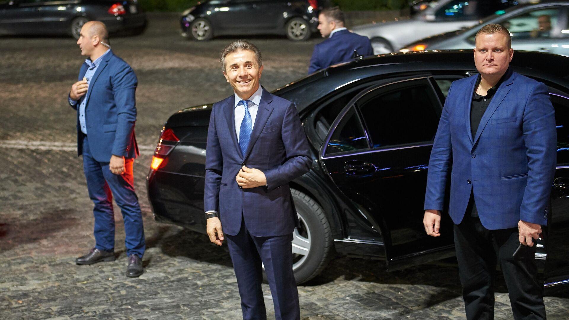 Председатель и основатель правящей в Грузии партии Грузинская мечта Бидзина Иванишвили - РИА Новости, 1920, 11.01.2021