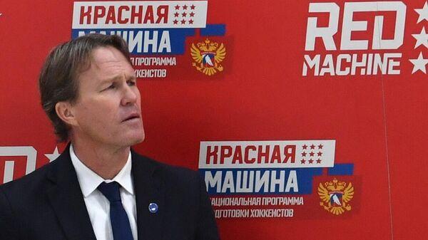 Главный тренер сборной Швеции Юхан Гарпенлёв