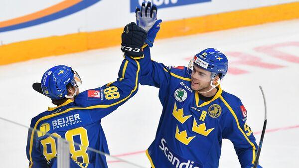 Хоккей. Кубок Первого канала. Матч Чехия – Швеция