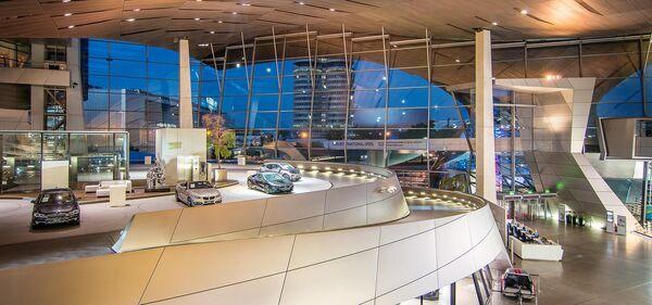 Музей BMW в Мюнхене