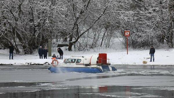 Спасение лыжника в новой Москве
