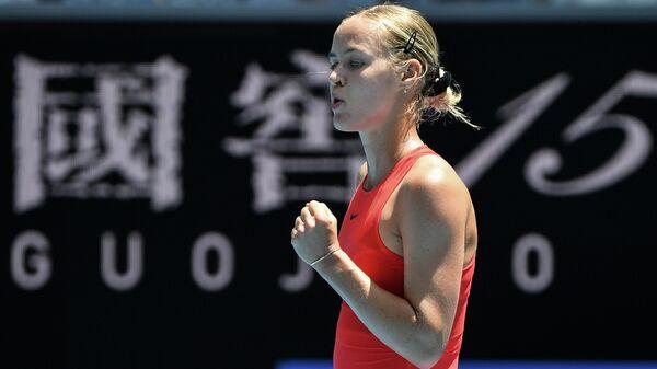 Словацкая теннисистка Анна Каролина Шмидлова