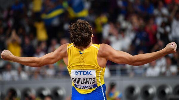 Шведский прыгун с шестом Арман Дюплантис