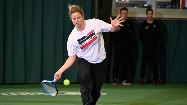 Бельгийская теннисистка Ким Клейтерс
