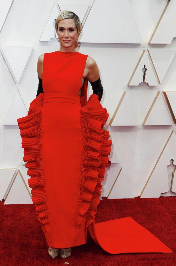 Актриса Кристен Уиг на церемонии вручения премии Оскар