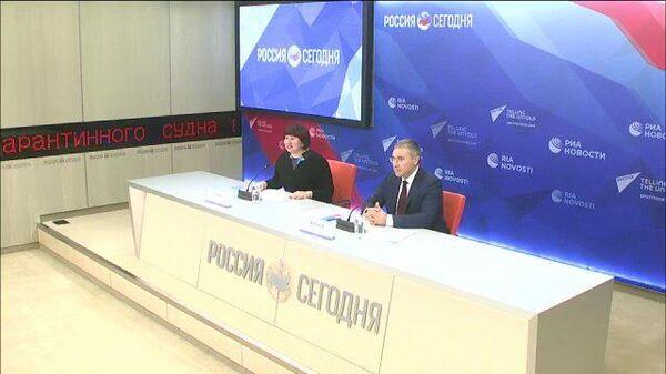 Пресс-конференция Министра науки и высшего образования РФ Валерия Фалькова