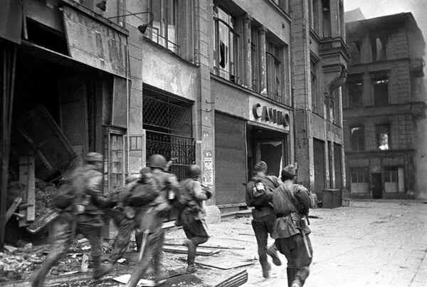 2-й Украинский фронт. Бои на улицах Будапешта