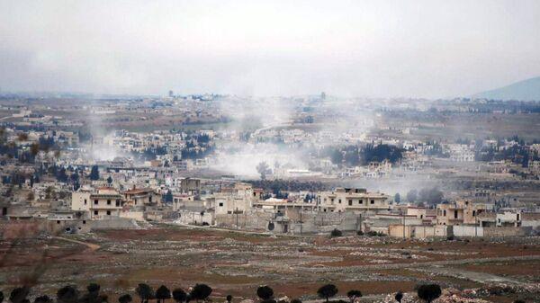 Операция сирийской армии по освобождению населенных пунктов в провинции Алеппо от террористов