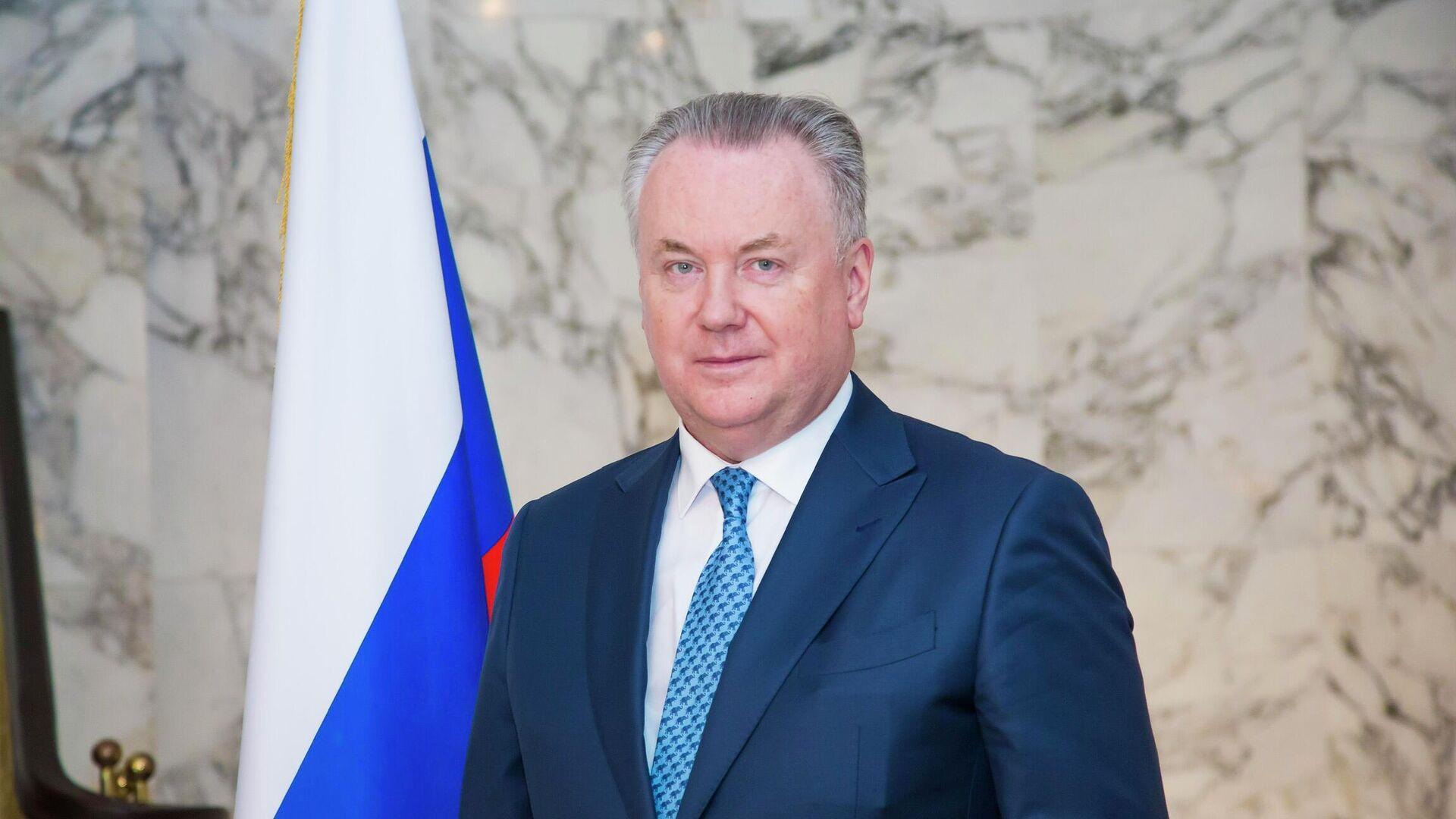Постоянный представитель РФ при Организации по безопасности и сотрудничеству в Европе Александр Лукашевич  - РИА Новости, 1920, 13.05.2021