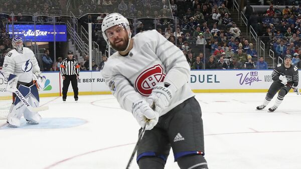 ST LOUIS, MISSOURI - JANUARY 25: Shea Weber #6 of the Montreal Canadiens skates in the game between Atlantic Division v Pacific Division during the 2020 Honda NHL All-Star Game at Enterprise Center on January 25, 2020 in St Louis, Missouri.   Bruce Bennett/Getty Images/AFP