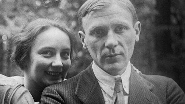 Любовь Белозёрская и Михаил Булгаков