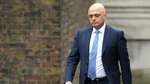 Саджид Джавид у резиденции премьер-министра Великобритании на Даунинг-стрит в Лондоне
