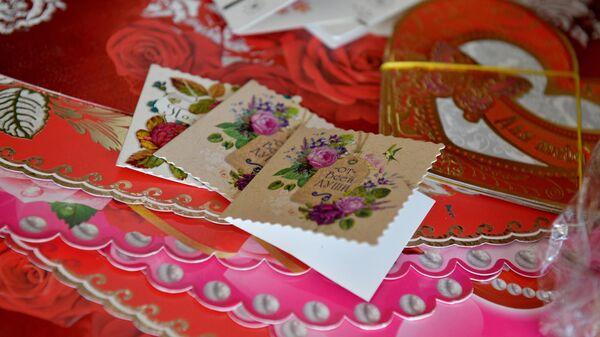 Сувенирная продукция ко Дню святого Валентина