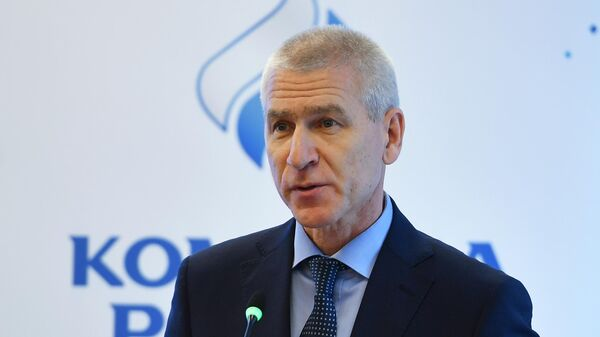 Министр спорта РФ Олег Матыцин