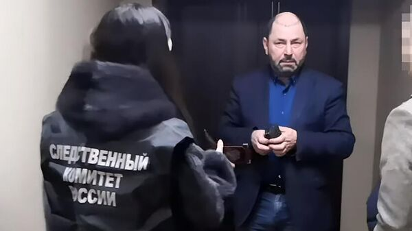 Задержание главы администрации Листвянского муниципального образования Александра Шамсудинова