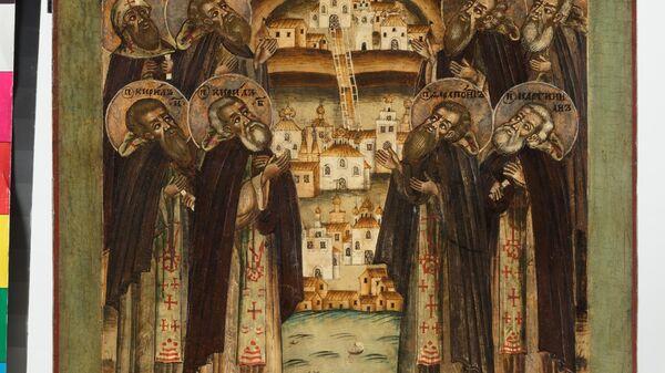 Икона Белозерские святые