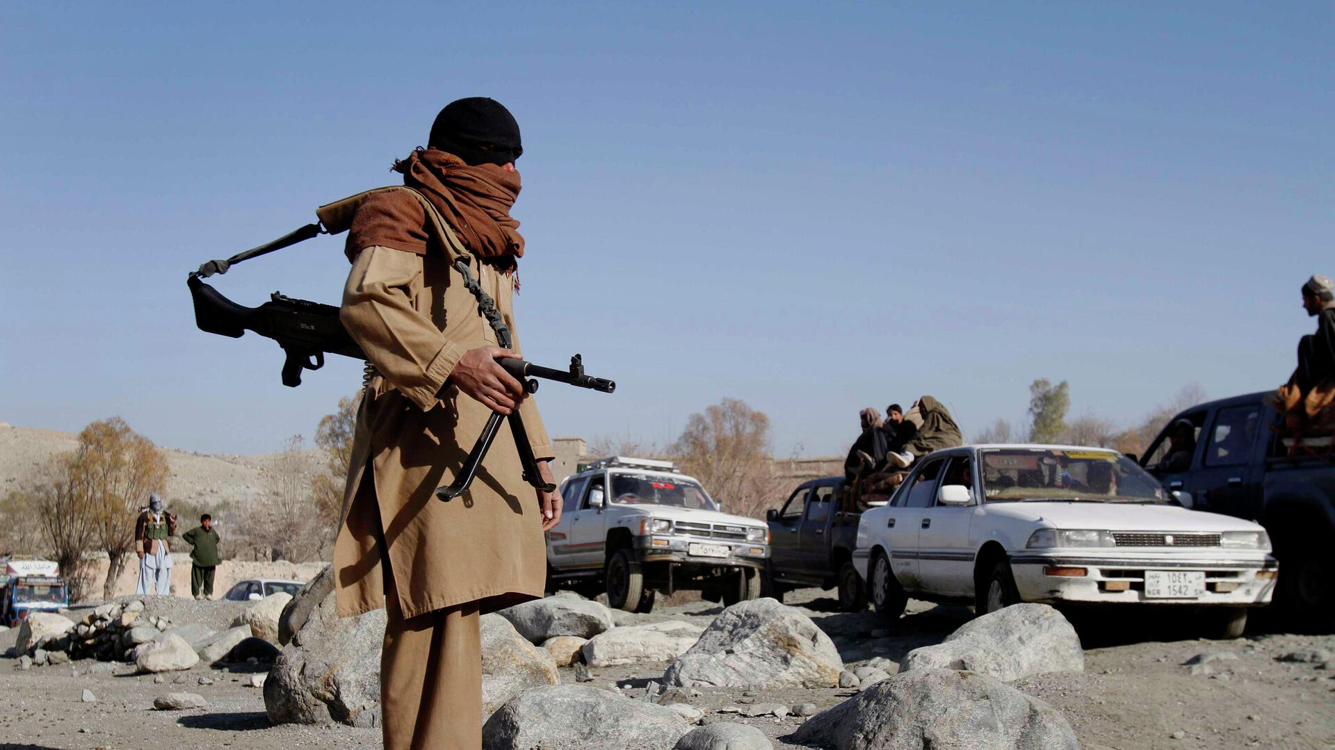 Боевики радикального движения Талибан в Афганистане - РИА Новости, 1920, 12.06.2021