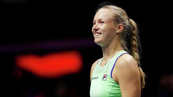 Нидерландская теннисистка Кики Бертенс