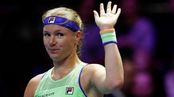 Голландская теннисистка Кики Бертенс