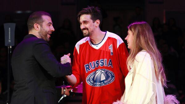 Игрок команды Звезды России Алексей Швед