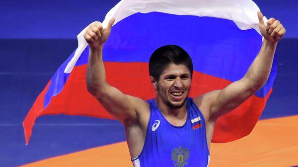 Российский борец вольного стиля Магомедрасул Газимагомедов