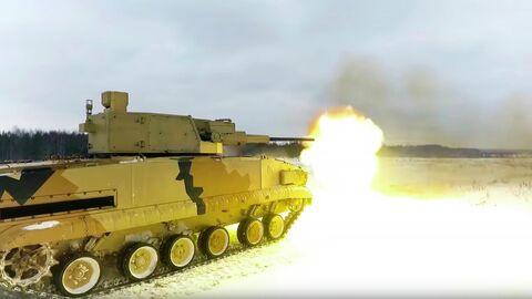 57-мм дистанционно управляемый боевой модуль АУ-220М