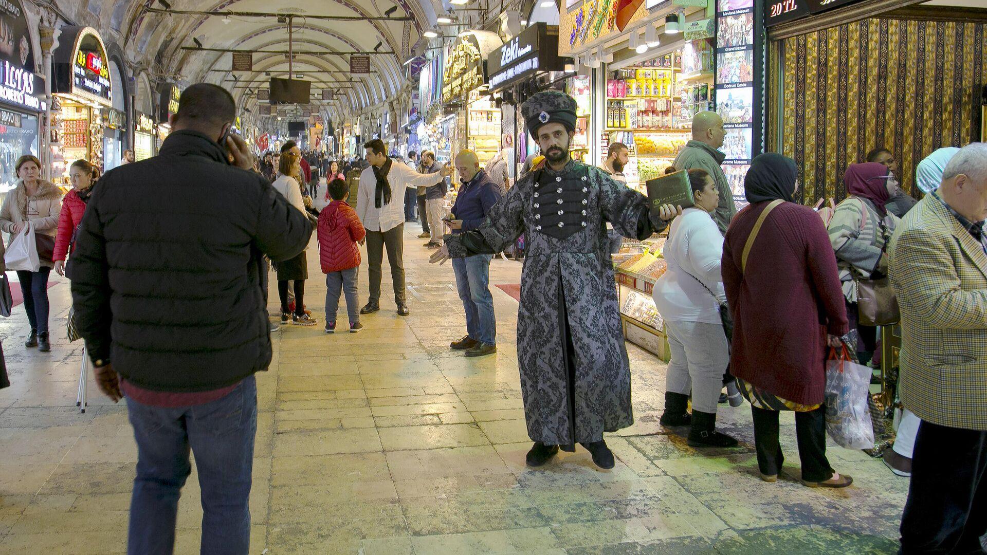 Гранд-базар в Стамбуле - РИА Новости, 1920, 07.12.2020