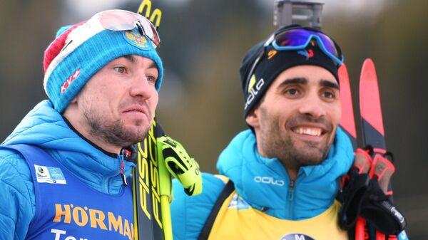 Александр Логинов (слева) и Мартен Фуркад