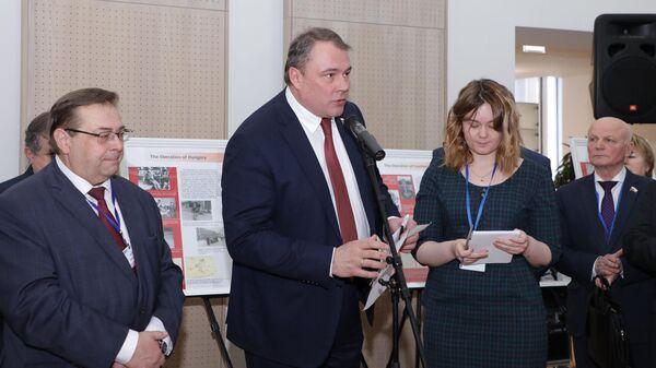 Открытие выставки, посвященной 75-летней годовщине освобождения Европы от нацизма, в штаб-квартире ОБСЕ в Вене