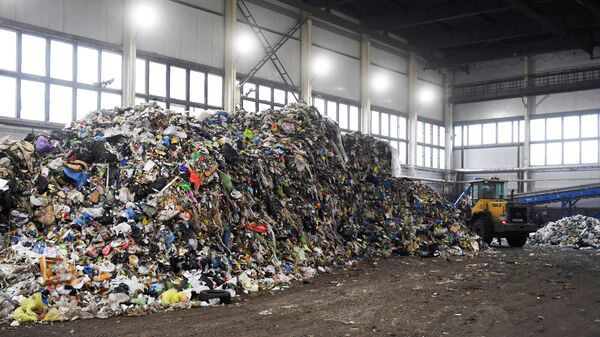 Пункт сортировки и переработки отходов