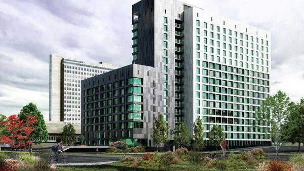 Проект нового общежития для студентов Государственного университета управления в Москве