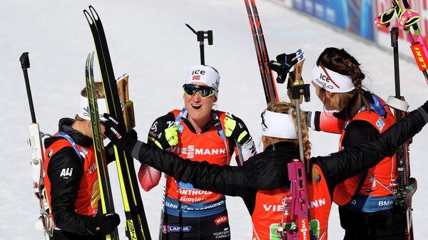 Биатлонистки сборной Норвегии