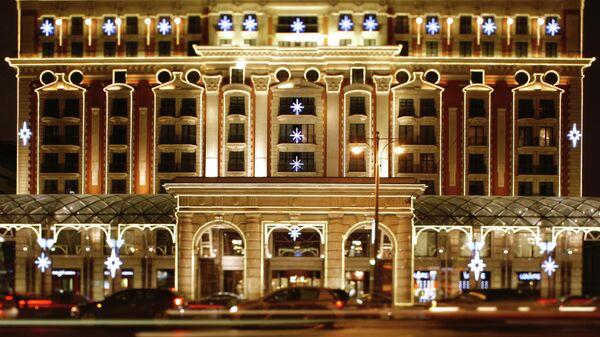 Пятизвездочный отель Ритц-Карлтон-Москва в центре столицы, принадлежащий всемирно известной сети отелей The Ritz-Carlton Hotel