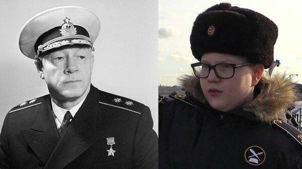 Связь поколений: правнук адмирала Кузнецова учится морскому делу