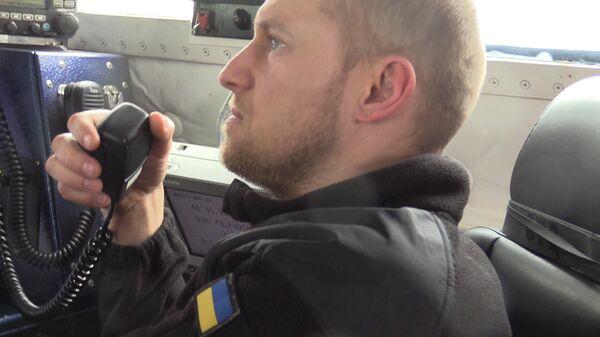 Украинские военные провели учебные стрельбы в Азовском море