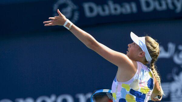 Американская теннисистка Аманда Анисимова
