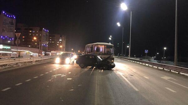 ДТП с автобусом в Воронеже