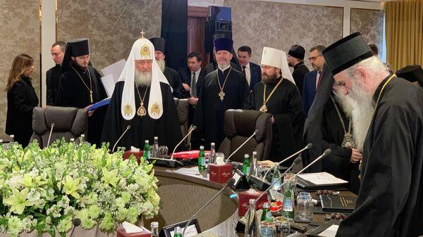 Патриарх Московский Кирилл в Аммане