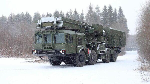 Зенитная ракетная система С-350 Витязь
