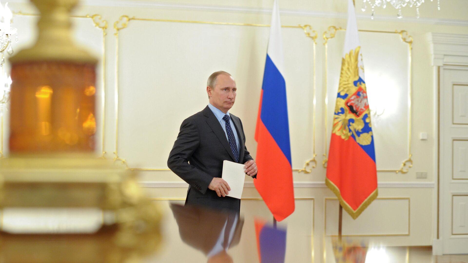 Президент России Владимир Путин  - РИА Новости, 1920, 22.11.2020