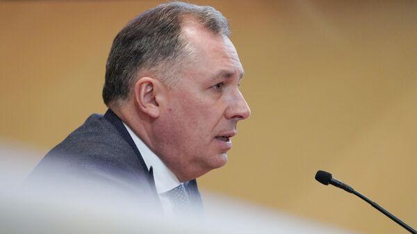 Президент олимпийской команды России (ОКР) Станислав Поздняков
