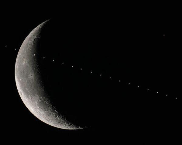Марс перед Луной. 18 февраля 2020