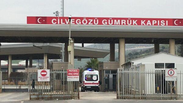Кадры с КПП на границе Турции и Греции