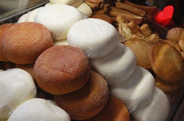Сыр Адыгейский на сырном фестивале в Музее Москвы