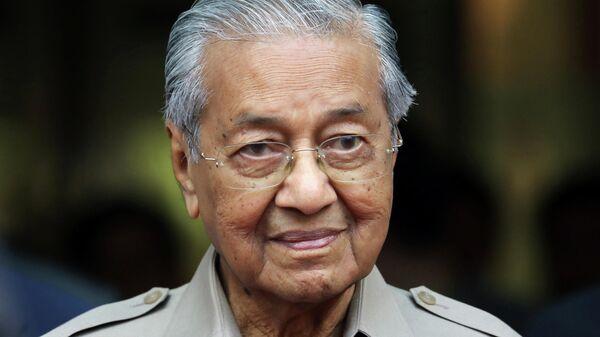 Временный премьер-министр Малайзии Махатхир Мохамад