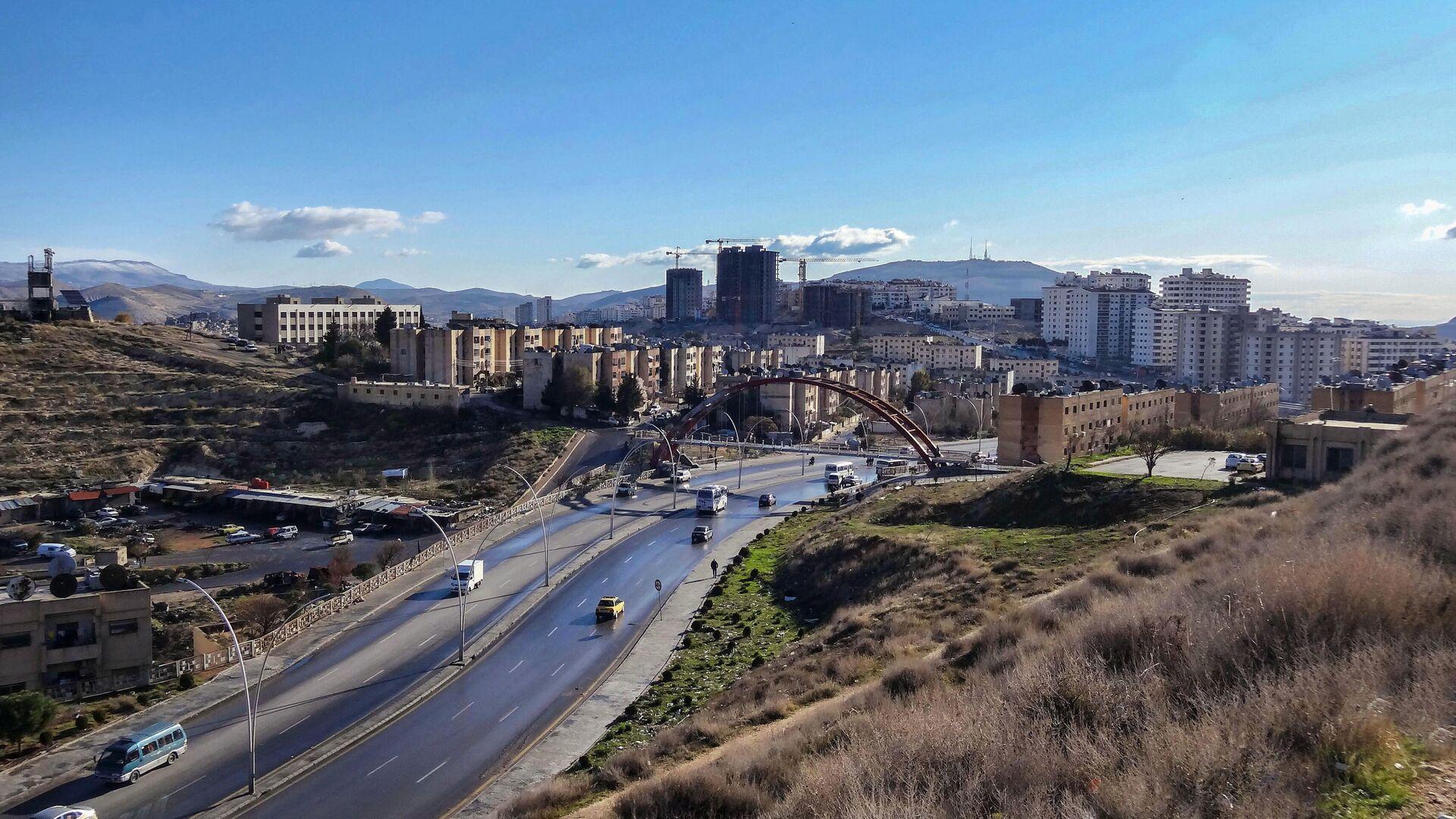 Дамаск, Сирия - РИА Новости, 1920, 18.04.2021