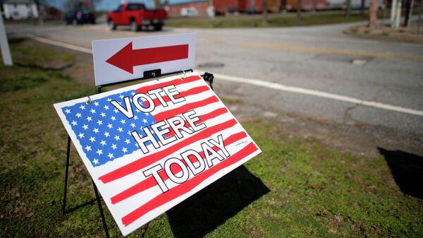 Избирательный участок в Южной Каролине, США