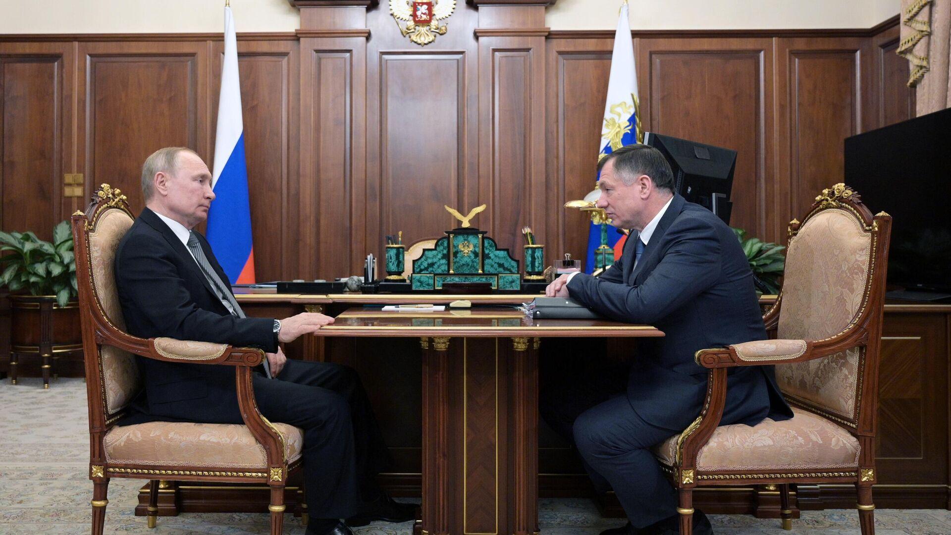 Путин проведет совещание с Хуснуллиным по водоснабжению Крыма