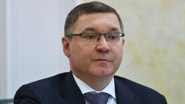 Встреча членов СФ РФ с министром строительства и ЖКХ РФ В. Якушевым